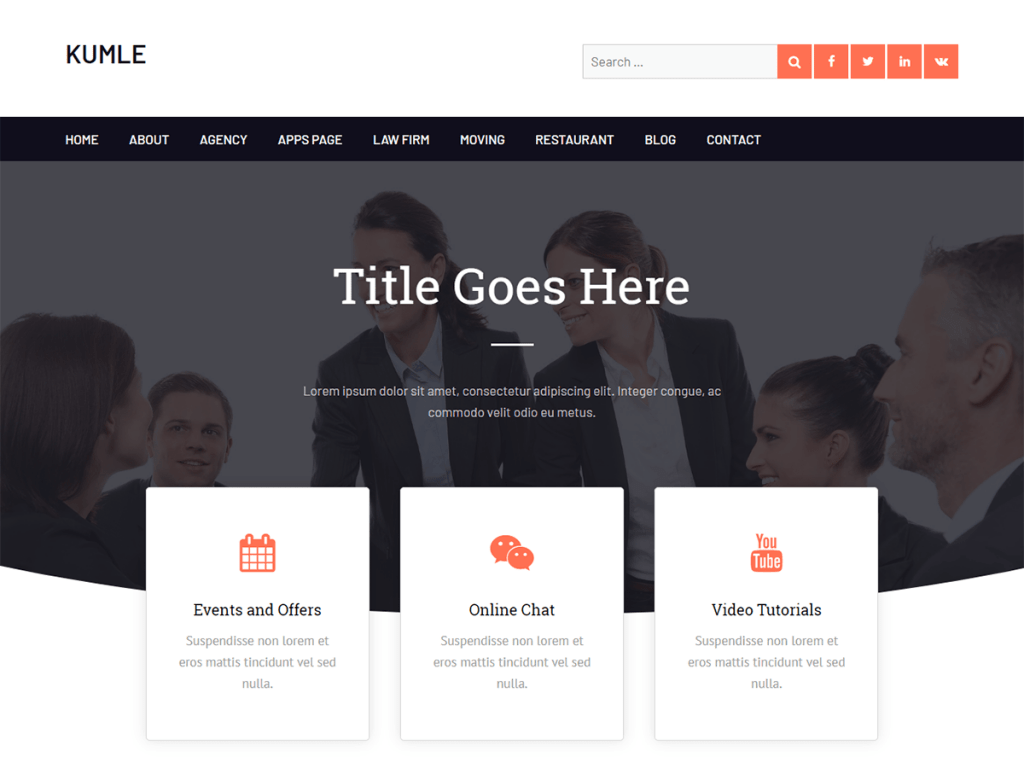 Kumle – Multipurpose Elementor WordPress theme