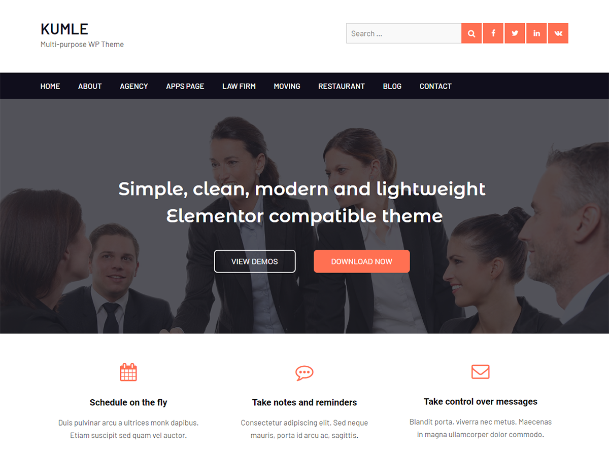 best elementor theme and template