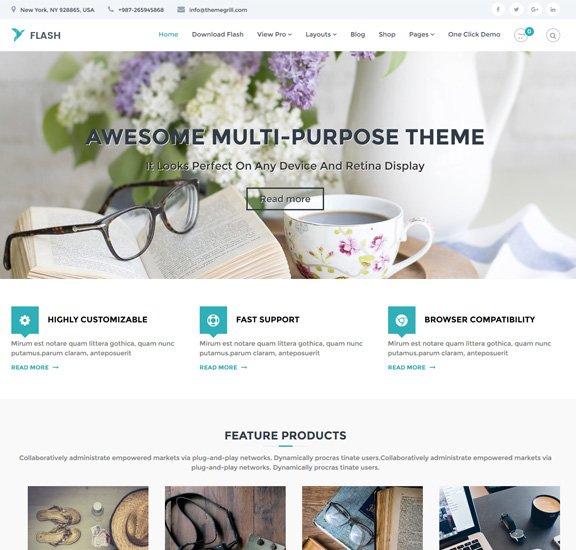 Flash Free WordPress Business Theme